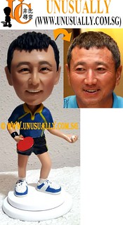 Personalized 3D Table Tennis Player Figurine - © www.unusually.com.sg