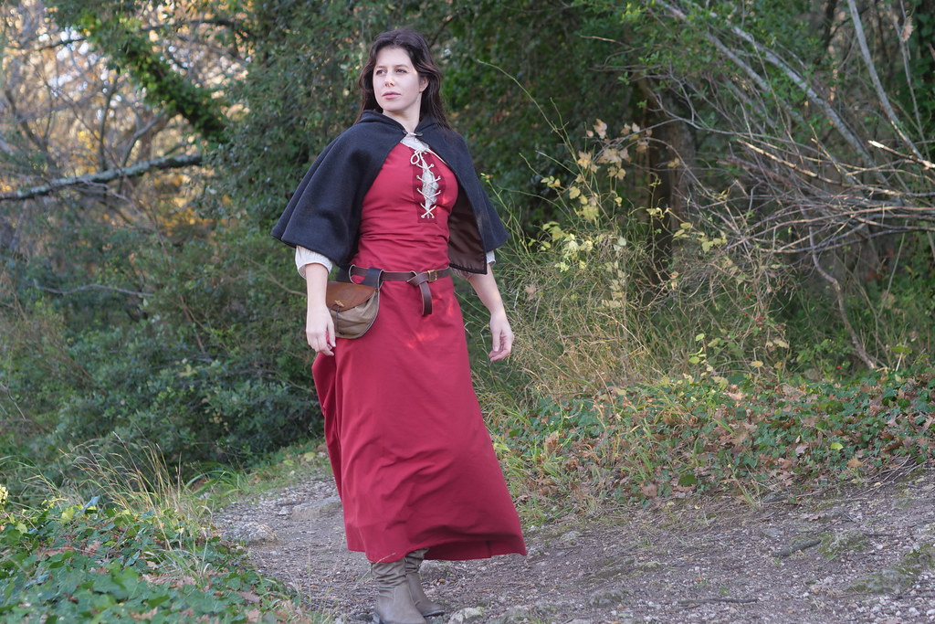 related image - Shooting Médiéval - Orena Costume - Val des Nymphes -2017-12-23- P1100692