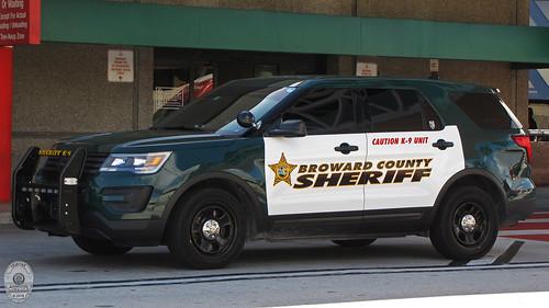 Broward County Sheriff - 2016 Ford Interceptor Utility
