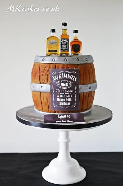 Barrel Cake by MKcakes.co.uk