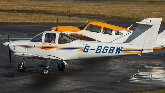 G-BGBW  @ Cardiff Airport 170218