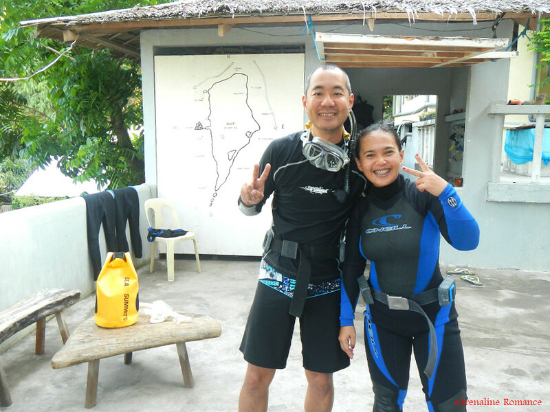 Scuba diving knows no race