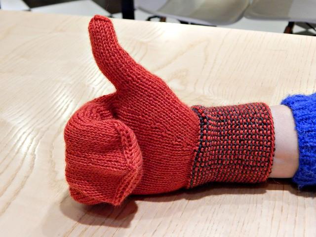 варежка-палец