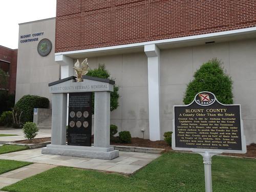 Blount County Veterans Memorial, Oneonta, AL