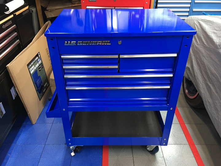 Blue Harbor Freight Cart The Garage Journal Board