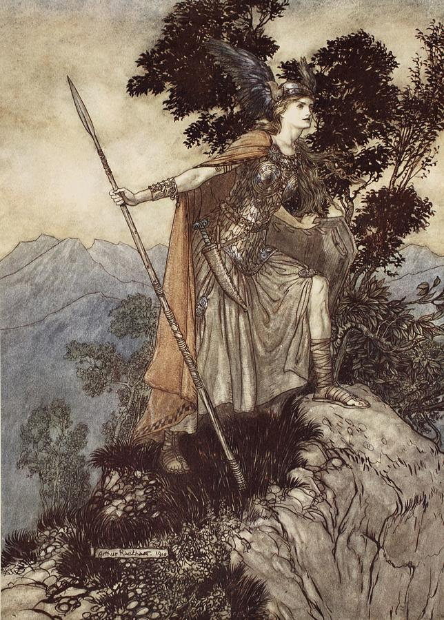 the valkyrie arthur rackham