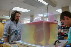 2018.02.14 Wax/gelatin magma simulation labs