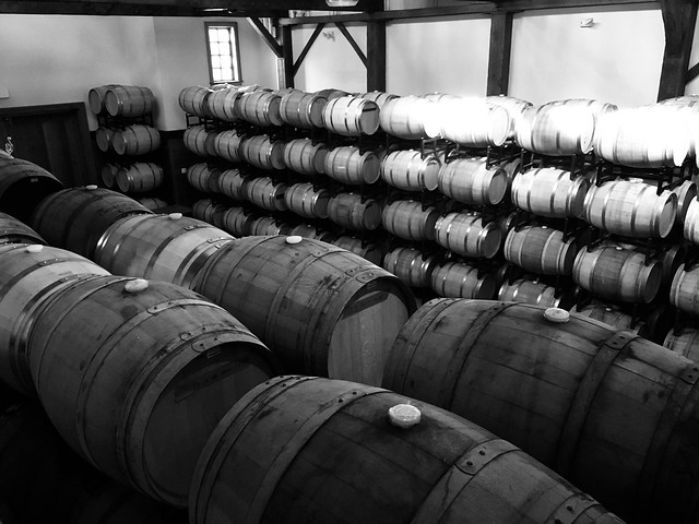 New Kent Winery, post-hike #dailymonochrome