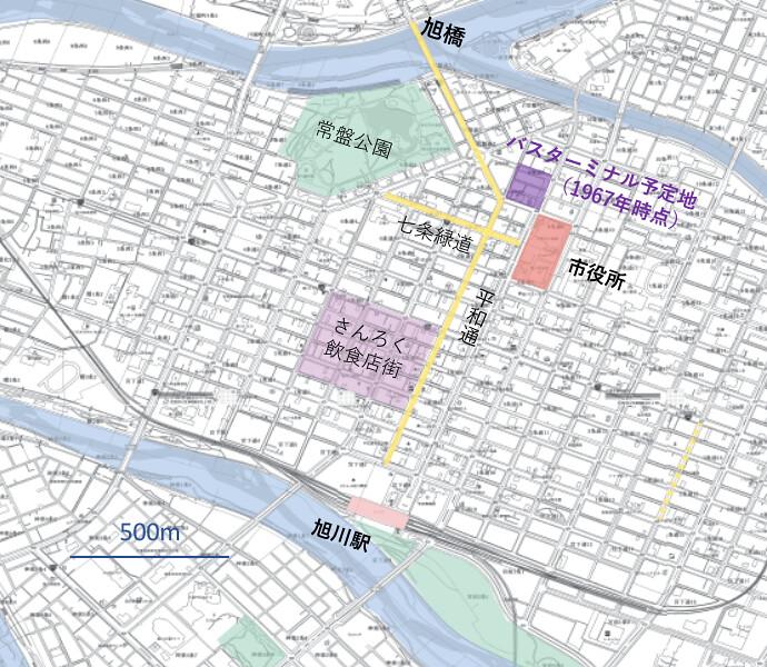 旭川map