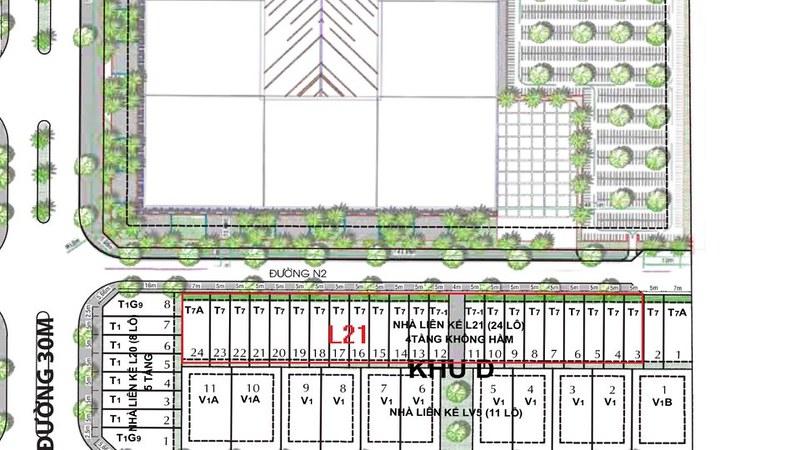 CityLand Park Hills mở bán dãy nhà phố L21