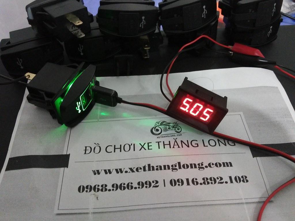 Điện áp sạc chuẩn 5V