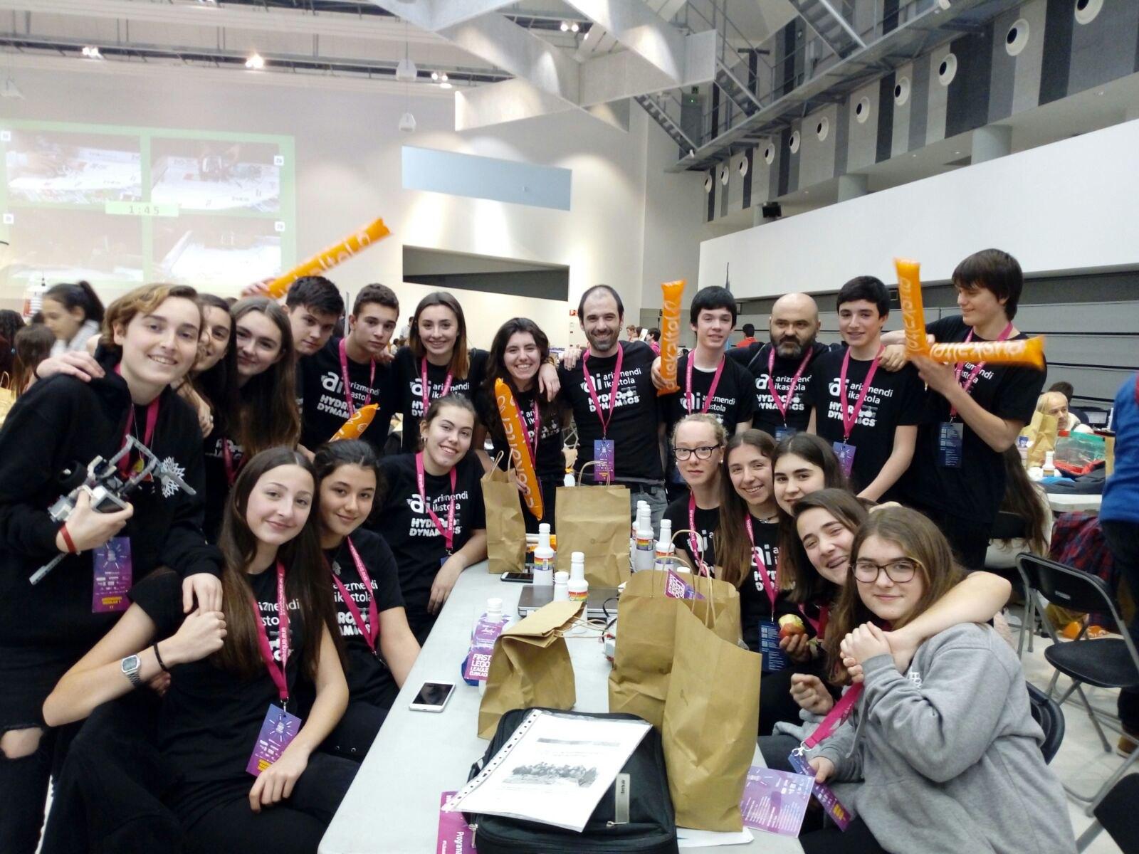 FLL Euskadiko kanporaketako argazkiak