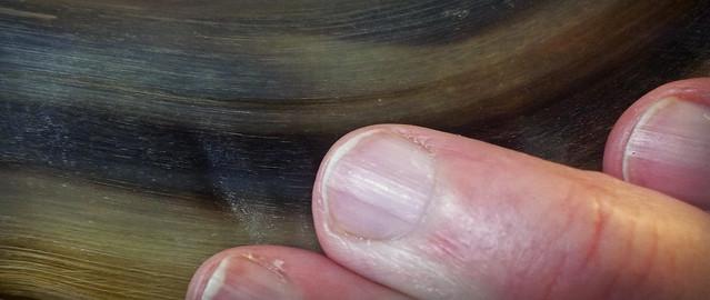 Fingers on the Shofar