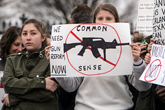 We need gun reform now, student lie-in at the White House to protest gun laws