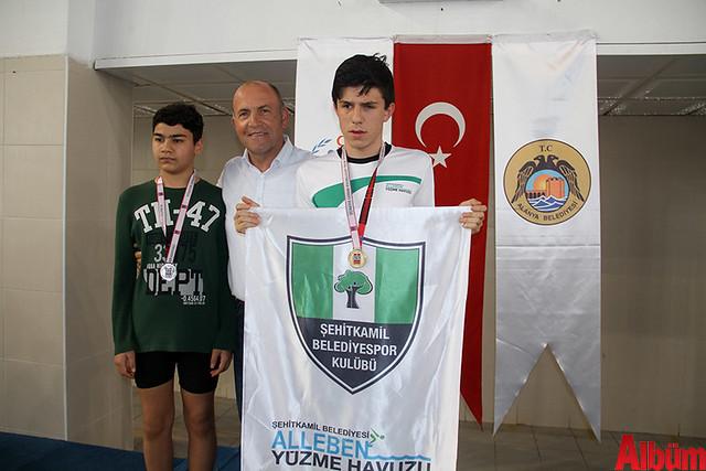 Görme Engelli Sporcular yüzme şampiyonası ve milli takım seçmesi -6