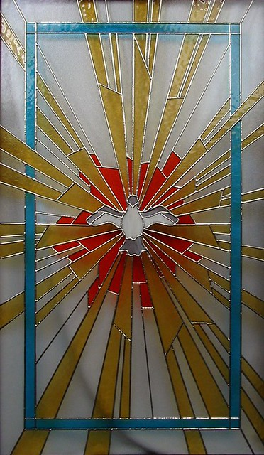 vitráž barevná sakrální