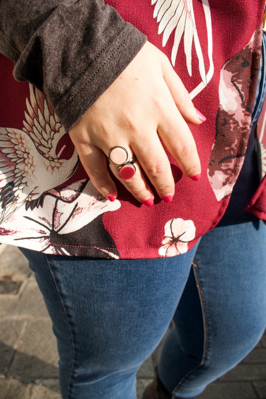 Outfit plus size, kimono Come le ciliegie  (5)