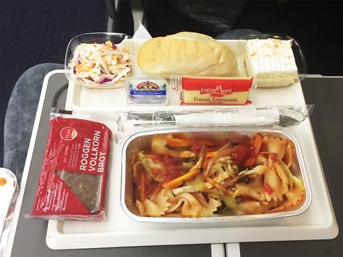 144 - Dinner - Economy Class - Condor