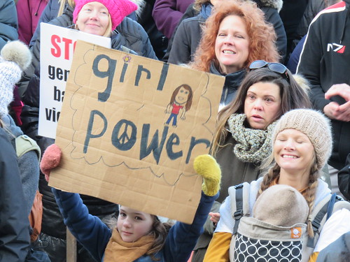 March On Edmonton - Women's Anniversary March 2018