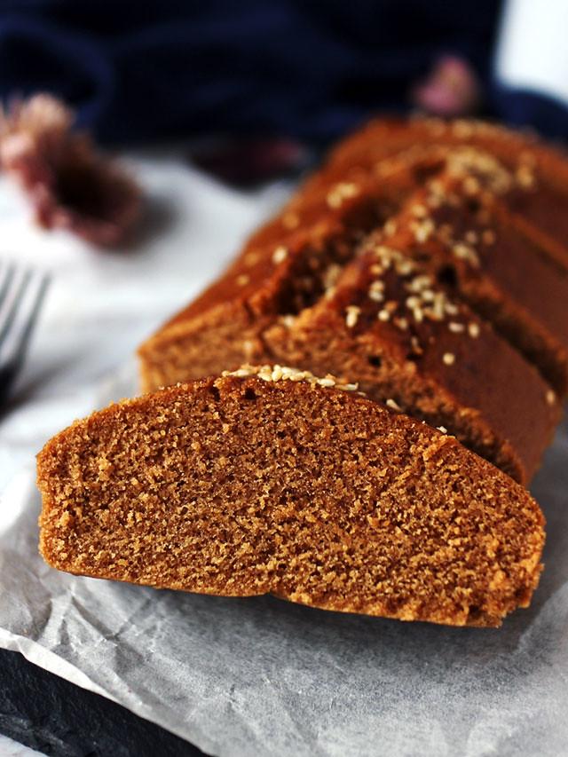 全素無麵粉黑糖糕 vegan-brown-sugar-cake (8)