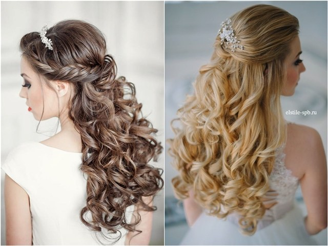 +10 Best Half Up Half Down Wedding Hairstyle Ideas 3