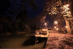 FR10 1007 Quai Edmond Combes. Le bassin du canal du Midi. Castelnaudary, Aude, Languedoc