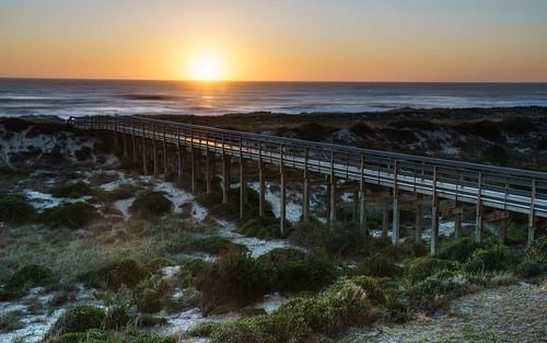 atlantic atlanticocean ocean walkway sunrise dawn daybreak longexposure sony a7riii ameliaisland florida 24105 nisi water sea bridge