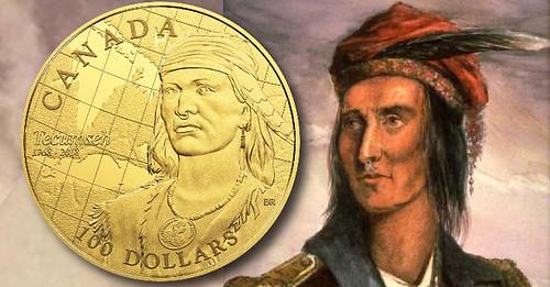 Tecumseh Sestercentennial coin