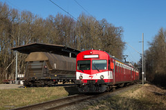 Alle | CH-JU (Jura) | 14.01.2018 | CJ-ABt 921 + RBDe 566 221 as train R 26451 Bonfol - Porrentruy near the 'Centre d'Ajoie' industrial site