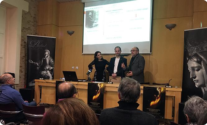 La cantaora Raquel Cantero analiza los orígenes y evolución de la saeta