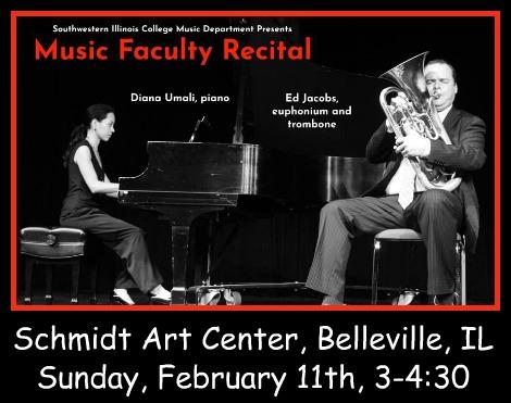 SWIC Faculty Recital 2-11-18