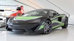 McLaren 540C Striping