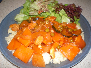 Sweet & Sour Chipotle Tempeh with Sweet Potatoes