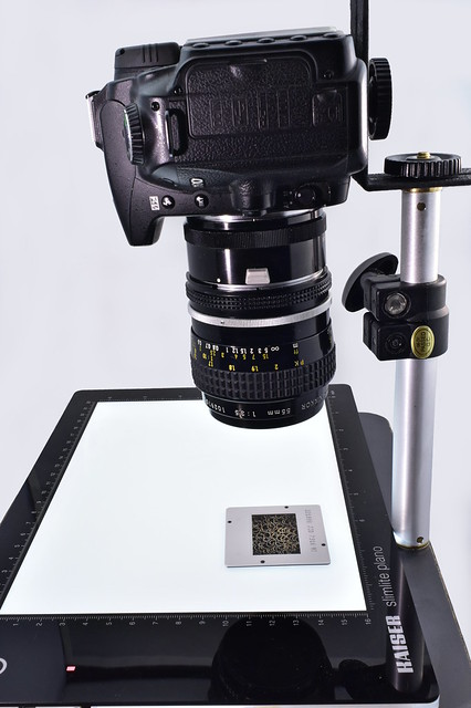 Film digitizing rig