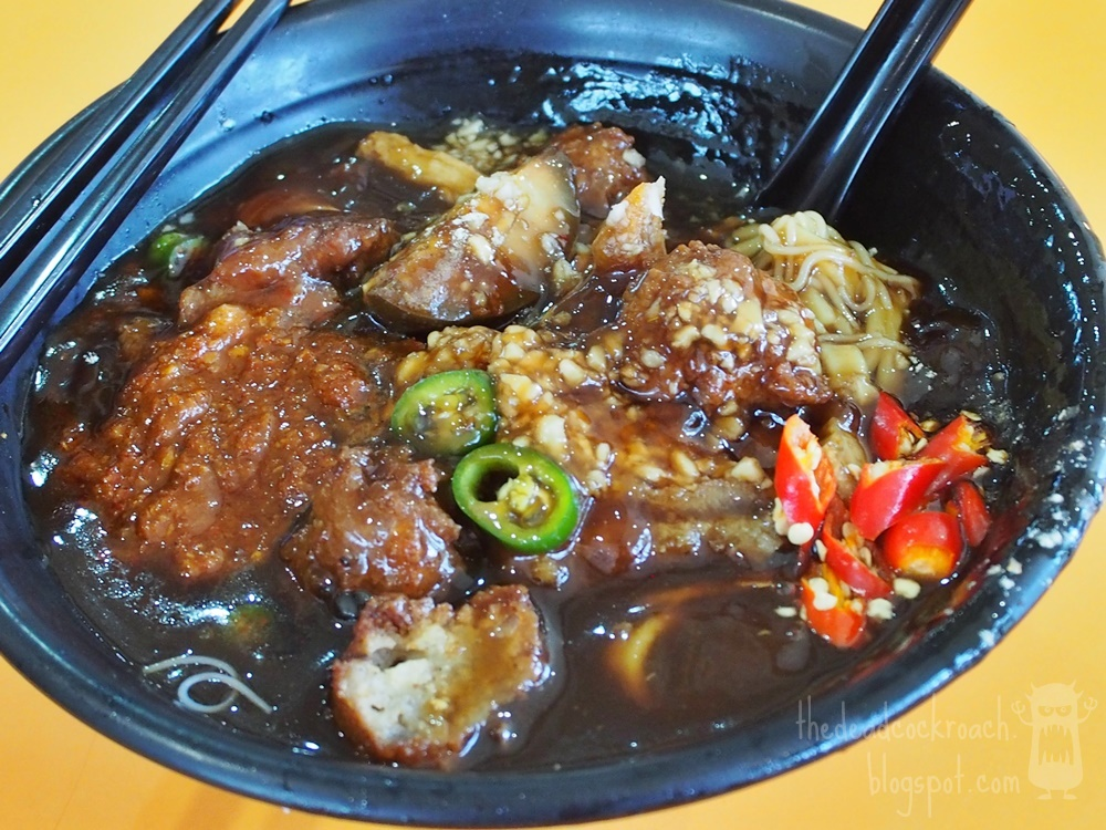 food, food centre, food review, hai tang, hai tang lor mee, lor mee, mei ling food centre, mei ling market & food centre, review, singapore, 卤面, 海棠, 海棠卤面