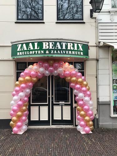 Ballonboog 6m Zaal Beatrix Schiedam