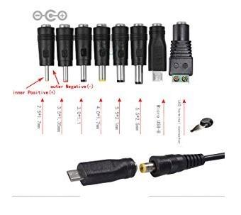 HCMA 【変換8種セット】ACアダプター30W 3V-12V 2000Ma (7)