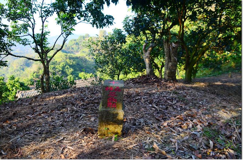 北勢坑山字森林三角點(Elev. 184 m)
