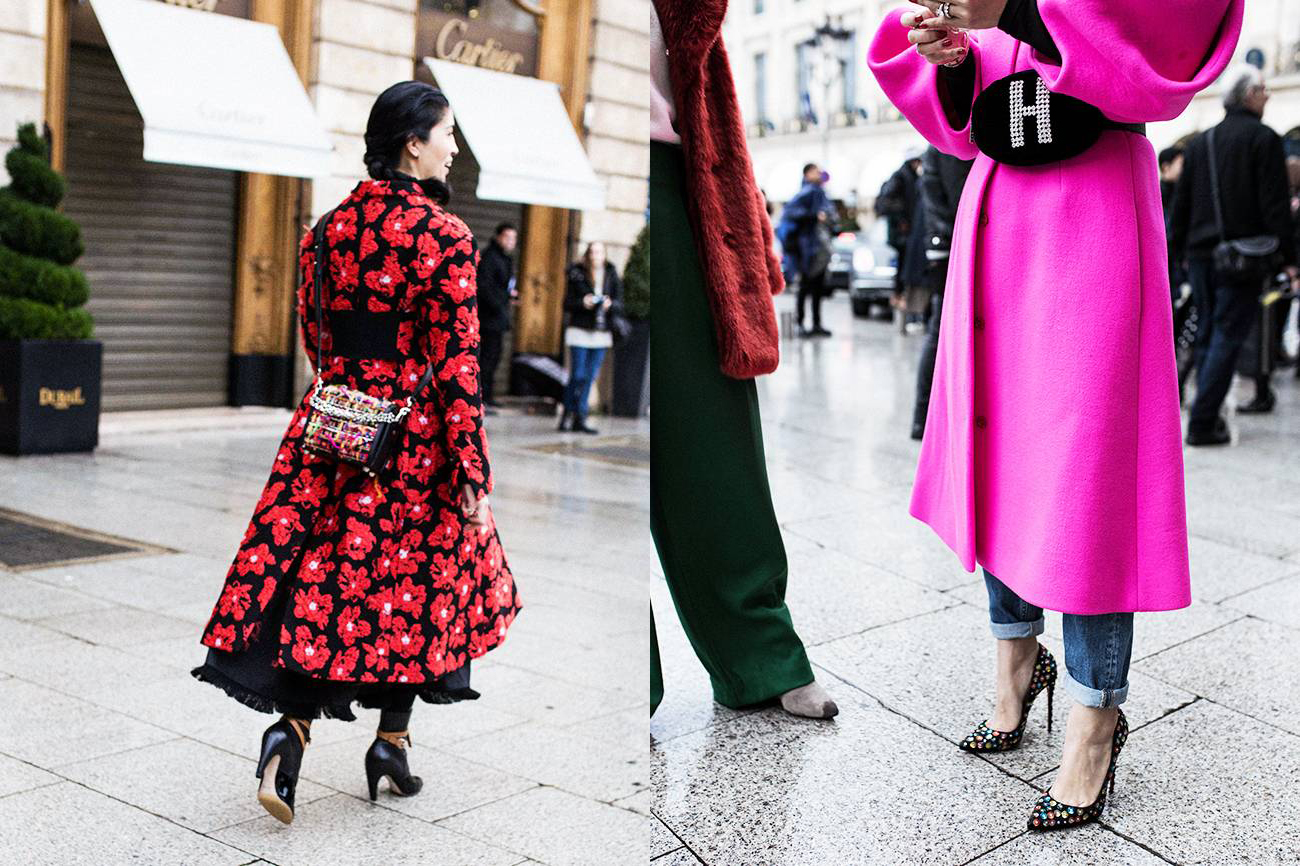 best street style From the Spring 2018 Paris Haute Couture Shows chanel dior fashion trend8