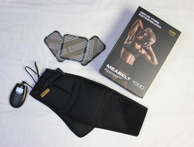 Test de la ceinture de musculation abdominale Meabelt 1000, efficace ? (concours inside)