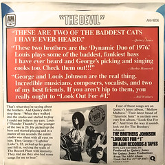 THE BROTHERS JOHNSON:I'LL BE GOOD TO YOU(JACKET B)