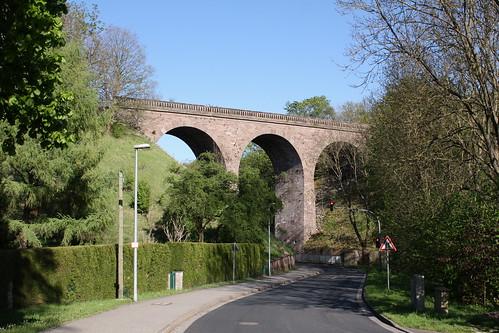 Viadukt der Kanonenbahn über die Unstrut bei Kefferhausen