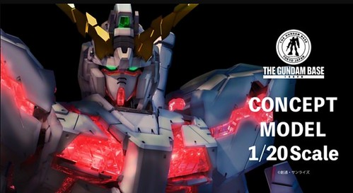Gundam Unicorn Concept model unicorn - DEMO