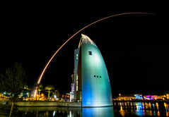 A fantastic night for a launch from Kennedy Space Center.