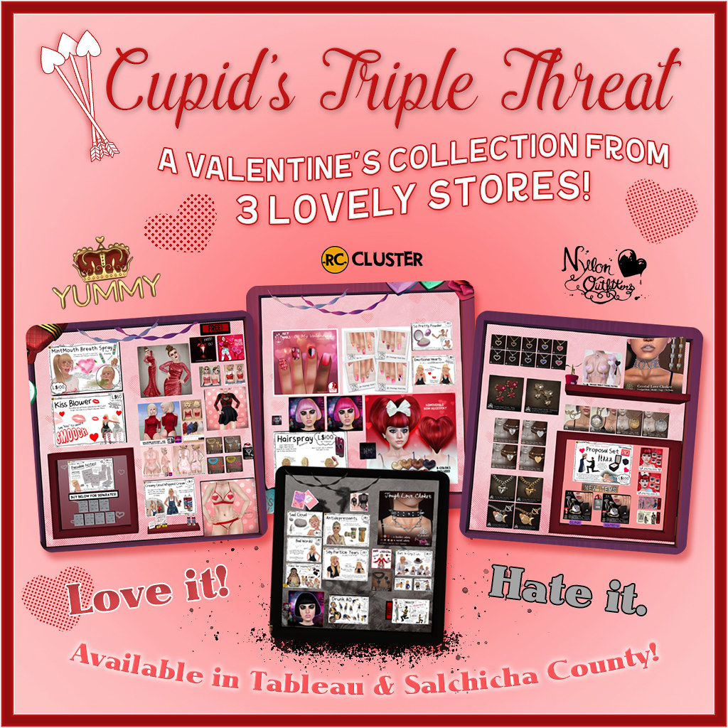 -RC- Cluster, Yummy & Nylon Outfitters Valentine's Day Collection & Freebies!