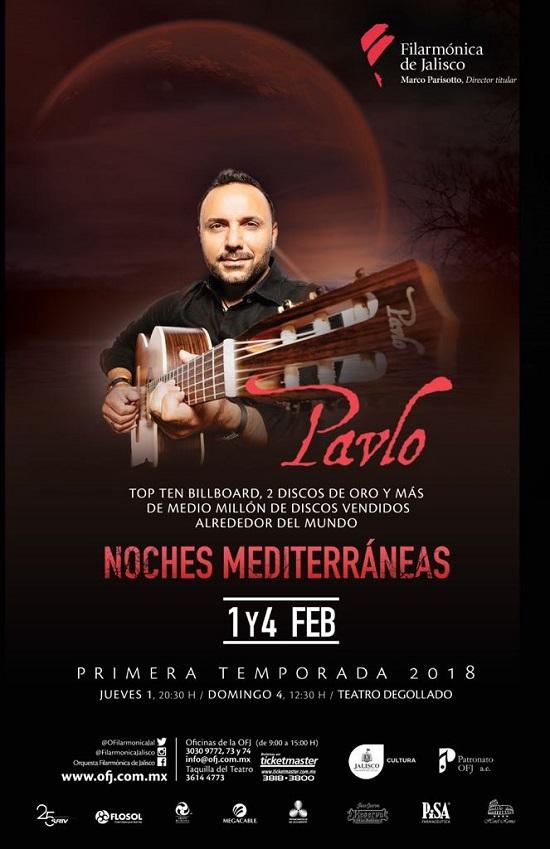 Música Antigua / Pavlo-Noches Mediterraneas OFJ / Teatro Degollado