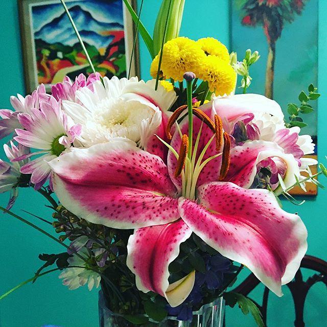 Flowers from Joshy.