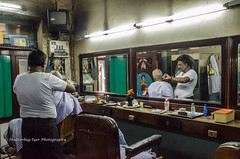 An old hair cutting salon in Chennai