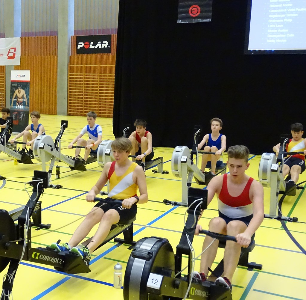 Swiss Rowing Indoors, 27.01.2018