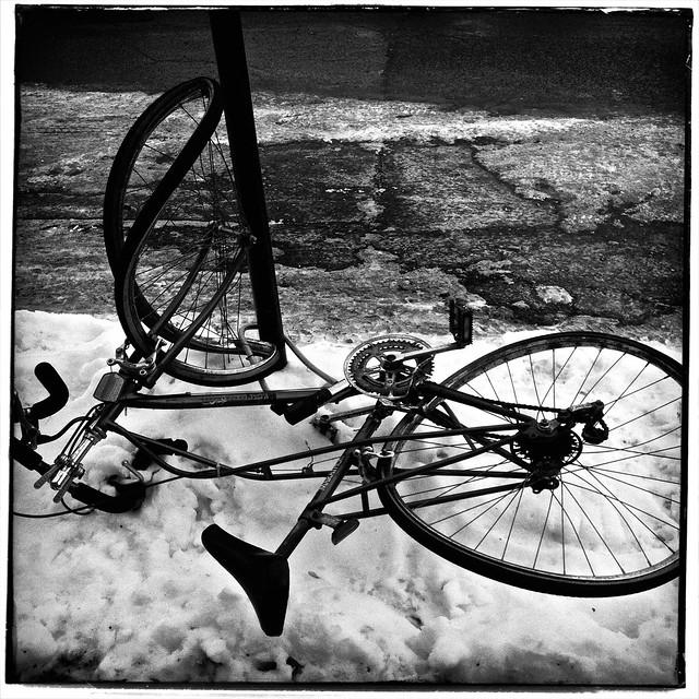 Les affres de l'hiver/Winter in Montréal
